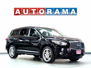 Used 2013 Infiniti JX35 NAVIGATION LEATHER SUNROOF 7 PASS 4WD BACKUP  CAM for sale in North York, ON
