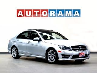 Used 2014 Mercedes-Benz C-Class NAVIGATION LEATHER SUNROOF 4WD for sale in North York, ON
