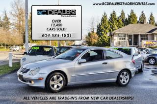 Used 2002 Mercedes-Benz C230 Sport Kompressor, 6-Speed Manual, Low K, Pano Roof for sale in Surrey, BC
