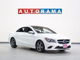 Used 2014 Mercedes-Benz CLA250 NAVIGATION LEATHER SUNROOF 4WD for sale in North York, ON