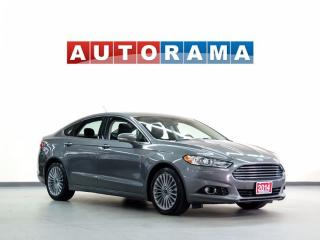 Used 2014 Ford Fusion NAVIGATION LEATHER SUNROOF for sale in North York, ON
