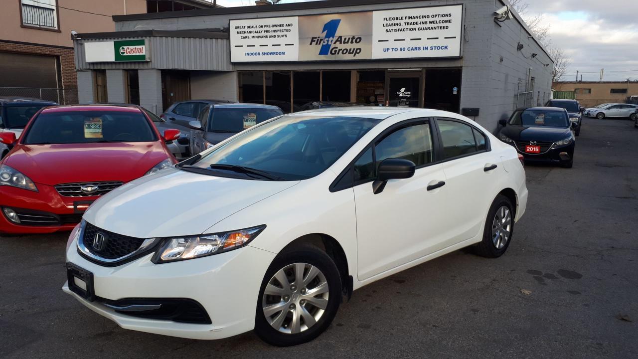 Photo of White 2014 Honda Civic