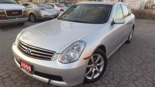 Used 2006 Infiniti G35X Clean Carproof/ for sale in Markham, ON