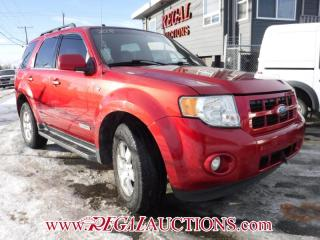 Used 2008 Ford ESCAPE LIMITED 4D UTILITY AWD for sale in Calgary, AB