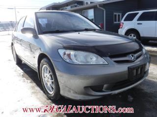 Used 2004 Honda Civic LX 4D Sedan for sale in Calgary, AB