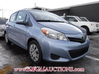 Used 2013 Toyota YARIS LE 5D HATCHBACK 5SP for sale in Calgary, AB