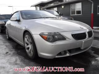 Used 2005 BMW 6 SERIES 645CI 2D CONVERTIBLE for sale in Calgary, AB