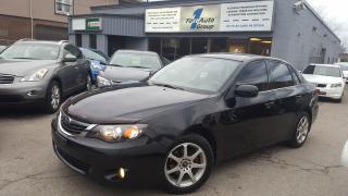 Used 2008 Subaru Impreza 2.5i SPORT BLUETOOTH, H/SEATS for sale in Etobicoke, ON
