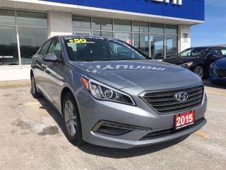 Used 2015 Hyundai Sonata $99 down $55/week + tax for sale in Owen Sound, ON