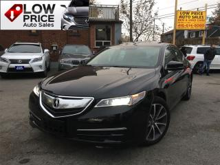 Used 2015 Acura TLX Tech*AWD*Navi*Cam*FullOpti*AcuraWarr* for sale in York, ON