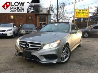 Used 2014 Mercedes-Benz E-Class AWD*Nav*360Cam*PanoRoof*MBWarranty* for sale in York, ON