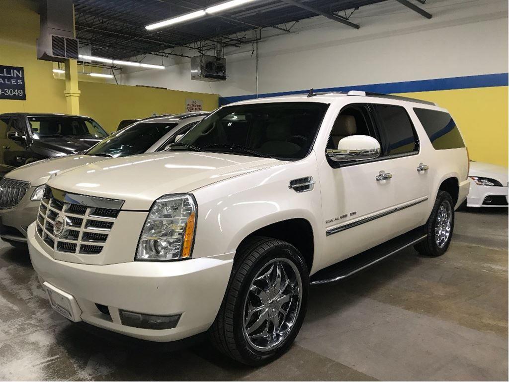2012 Cadillac Escalade ESV 22 Chrome Rims