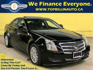 Used 2010 Cadillac CTS with Panoramic Sunroof 128K kms for sale in Concord, ON