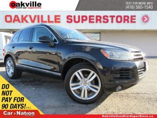 Used 2011 Volkswagen Touareg 3.0 TDI | LEATHER | PANO ROOF | B/U CAM | NAVI for sale in Oakville, ON