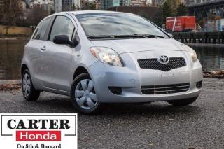 Used 2007 Toyota Yaris CE + FULLY INSPECTED! + LOCAL + ACCIDENTS FREE! for sale in Vancouver, BC