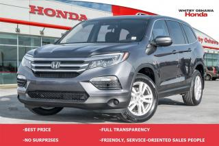 Used 2017 Honda Pilot LX | Automatic for sale in Whitby, ON