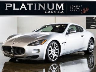 Used 2009 Maserati Gran Turismo 405HP, NAVI, PADDLE SHIFT, BOSE, HEATED LTHR for sale in North York, ON