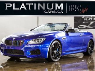 Used 2012 BMW M6 CABRIOLET, DRIVERS ASSIST, NAVI, BANG&OLUF, EXEC for sale in North York, ON