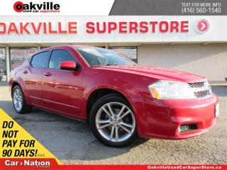 Used 2011 Dodge Avenger SXT | BLUETOOTH | HEATED SEATS | SUNROOF for sale in Oakville, ON