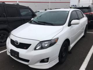 Used 2010 Toyota Corolla S for sale in Pickering, ON