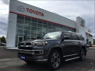 Used 2016 Toyota 4Runner 7 PASS LIMITED for sale in Pickering, ON