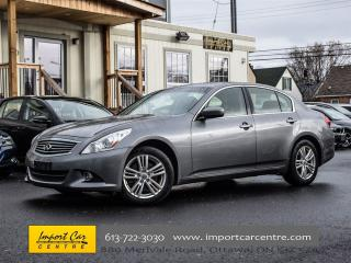 Used 2012 Infiniti G37 Luxury  LEATHER, ROOF, PARK DISTANCE for sale in Ottawa, ON