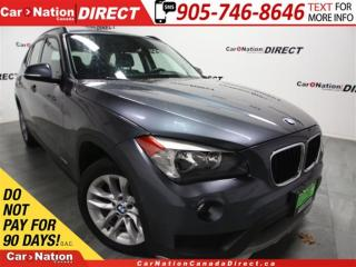 Used 2015 BMW X1 xDrive28i| LEATHER| PANO ROOF| PUSH START| for sale in Burlington, ON