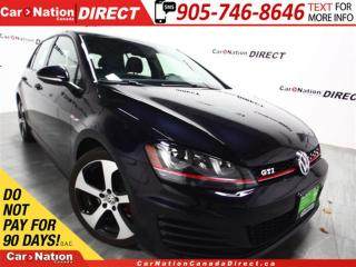 Used 2015 Volkswagen Golf GTI 5-Door Autobahn| NAVI| SUNROOF| LEATHER| for sale in Burlington, ON