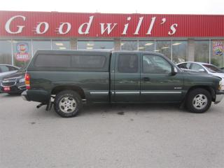 Used 2001 Chevrolet Silverado 1500 LS! EXTENDED CAB! for sale in Aylmer, ON