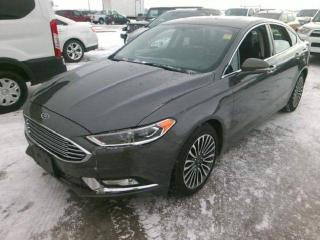 Used 2017 Ford Fusion SE *AWD/Lthr/nav for sale in Winnipeg, MB