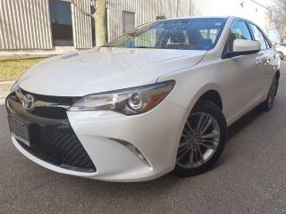Used 2017 Toyota Camry SE-Rear cam-paddle shifting-heated seats for sale in Mississauga, ON