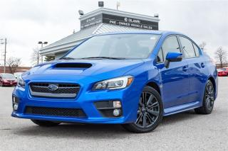 Used 2017 Subaru WRX BLIS | SUNROOF | WRX | 268HP| CLEAN CARPROOF | for sale in Mississauga, ON