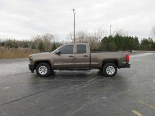 Used 2014 CHEV SILVERADO W/T DOUBLE CAB RWD for sale in Cayuga, ON