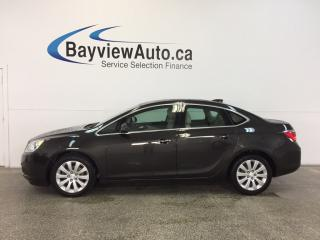 Used 2015 Buick Verano - REM STRT|ALLOYS|DUAL CLIMATE|REV CAM|BLUETOOTH! for sale in Belleville, ON