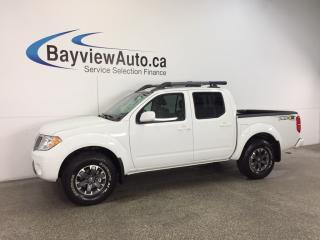 Used 2017 Nissan Frontier PRO4X- CREW|SUNROOF|HTD LTHR|REV CAM|CRUISE! for sale in Belleville, ON