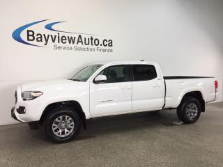 Used 2017 Toyota Tacoma SR5- CREW|HITCH|HTD STS|REV CAM|CRUISE|9300 KM! for sale in Belleville, ON