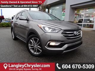 Used 2017 Hyundai Santa Fe Sport 2.0T Limited *ACCIDENT FREE * DEALER INSPECTED * CERTIFIED * for sale in Surrey, BC