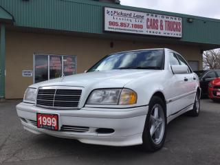 Used 1999 Mercedes-Benz C-Class Classic AS IS.POWER WINDOWS, LOCKS, AND MIRRORS! for sale in Bolton, ON