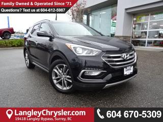 Used 2017 Hyundai Santa Fe Sport 2.0T Limited *ACCIDENT FREE*ONE OWNER*LOCAL BC CAR* for sale in Surrey, BC