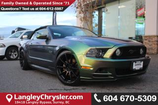 Used 2014 Ford Mustang GT *LOCAL BC CONVERTIBLE* DEALER INSPECTED* for sale in Surrey, BC