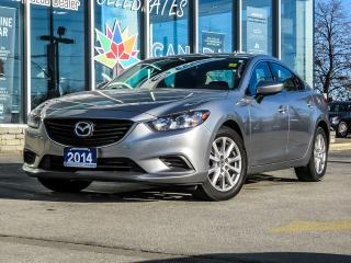 Used 2014 Mazda MAZDA6 HEATER SEAT/ BALANCE OF 7 YEARS MAZDA WARRANTY/ FINANCE @ 0%/ 4 NEW TIRES... for sale in Scarborough, ON