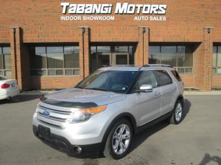 Used 2011 Ford Explorer LIMITED NAVIGATION SUNROOF REAR CAMERA for sale in Mississauga, ON
