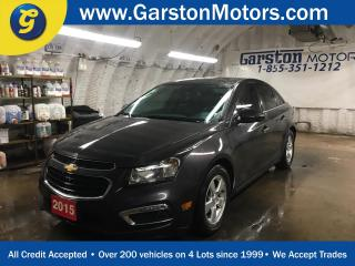 Used 2015 Chevrolet Cruze 2LT*POWER SUNROOF*LEATHER*HEATED FRONT SEATS*POWER DRIVER SEAT*BACK UP CAMERA*MY LINK PHONE CONNECT*KEYLESS ENTRY w/REMOTE START* for sale in Cambridge, ON