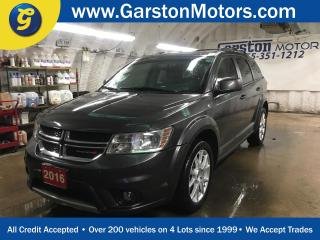 Used 2016 Dodge Journey LIMITED*7 PASSENGER*POWER SUNROOF*BACK UP CAMERA*BACK UP CAMERA*REAR DVD PLAYER*U CONNECT PHONE*KEYLESS ENTRYw/REMOTE START*ALPINE AUDIO* for sale in Cambridge, ON