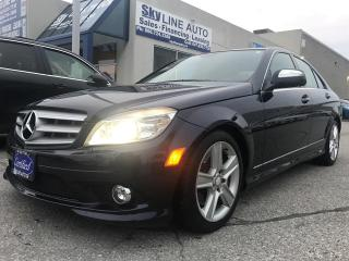 Used 2009 Mercedes-Benz C 300 HEATED SEATS|SUNROOF|BLUETOOTH|CERTIFIED for sale in Concord, ON