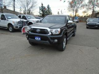 Used 2014 Toyota Tacoma LIMITED DOUBLE CAB for sale in North York, ON