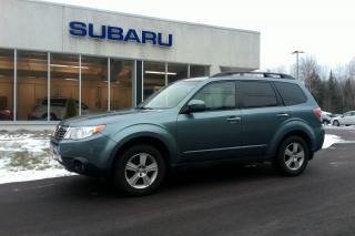 Used 2010 Subaru Forester X Touring for sale in Minden, ON