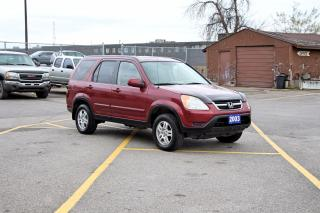 Used 2003 Honda CR-V EX-L for sale in Brampton, ON