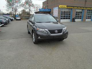 Used 2010 Lexus RX 350 ULTRA PREMIUM PKG for sale in North York, ON