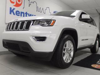 Used 2017 Jeep Grand Cherokee Laredo 4x4 power drivers seat, ECO mode, auto stop/start and a back up cam for sale in Edmonton, AB